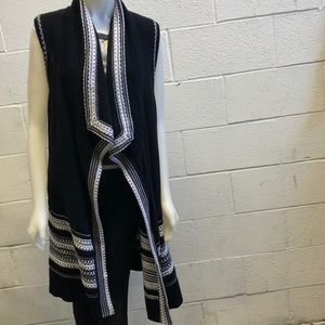 Vince black and white sweater, sz s, 62312